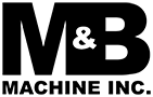 Image of the M and B Machine Logo